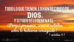 1 Corintios 4:7