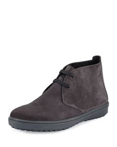 Blake Sport Suede Boot, Graphite  by Vince at Neiman Marcus.