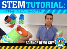 If you enjoy this free tutorial, you'll love the complete Activity Challenge (for Elementary AND Middle School students). Each STEM Activity Challenge comes with: A Teacher Demonstration Video (tutorial), Teacher Instructions, Materials Lists, Student Worksheets, Grading Rubrics & an NGSS reference sheet. *****Please click below to check it out!***** Grades K, 1st & 2nd Activity Challenge: Marshmallow Shooter Grades 3rd, 4th & 5th Activity Challenge: Marshmallow Sh...