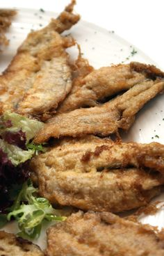 Anchoas rebozadas.