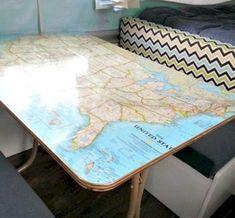 Awesome 30+ Adorable Low Budget Rv Hacks Makeover Remodel Table Ideas. # #RvHacksMakeoverRemodel
