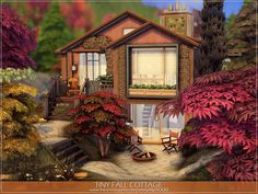 Sims 4 House Plans, Sims 4 House Building, The Sims 4 Lots, Mighty Oaks, Sims 4 Mm, Sims 4 Build, Outdoor Retreat, Sims 4 Houses, Sims Community