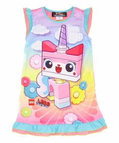 Pink UniKitty Nightgown - Girls #zulilyfinds