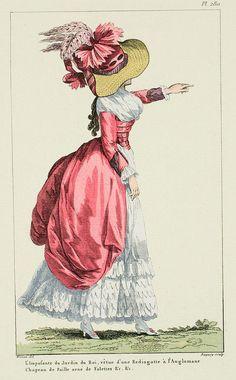 A Most Beguiling Accomplishment: Galerie des Modes, Figure, Figure 18th Century Dress, 18th Century Costume, 18th Century Clothing, 18th Century Fashion, 19th Century, Historical Costume, Historical Clothing, Historical Dress, Costume Français