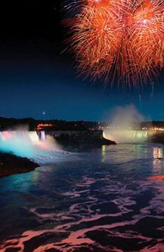 Watch fireworks explode over Niagara Falls #GrouponGetaways