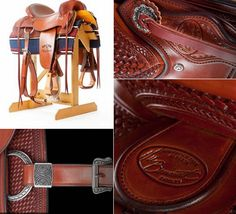 """Calgary Stampede, which is a famous and a known event in the region of Canada, will have limited edition handcrafted saddles on sale to commemorate the 100th year of the event. Handcrafted and detailed by the saddle maker Vic Bennett, these """"2012 Centen"""