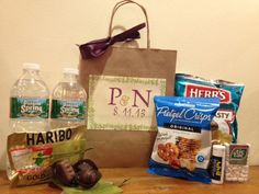 CustomMade Wedding Welcome Bags by MerciBeaucoupGifts on Etsy, $15.00