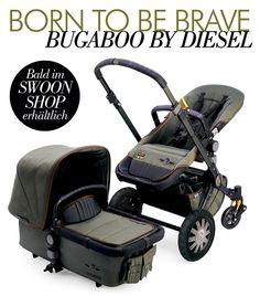 BUGABOO BY DIESEL - Bald im Swoon Shop erhältlich: Die neue Bugaboo by Diesel Kollektion ist ein echter Eye-Catcher mit der dein kleiner Rebell sich garantiert von der Masse abheben wird...