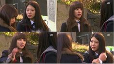 That moment when Cha Eun Sang was not afraid of Yoo Rachel any more.THE HEIRS Kim Woo Bin, Park Shin Hye, That Moment When, The Heirs, Love And Respect, Lee Min Ho, Feel Better, Letting Go, Kdrama