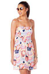Cape Coral Printed Dress