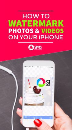 Make sure you have the BEST app for watermarking your iPhone photos & VIDEOS