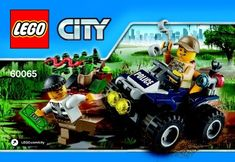 View LEGO instructions for ATV Patrol set number 60065 to help you build these LEGO sets