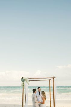 #beach, #ocean  Photography: Emily Blake Photography - emilylblake.com Event Planning: Destination Wedding\'s Tulum - destinationweddingstulum.com  Read More: http://www.stylemepretty.com/2013/07/01/tulum-wedding-from-emily-blake-photography/