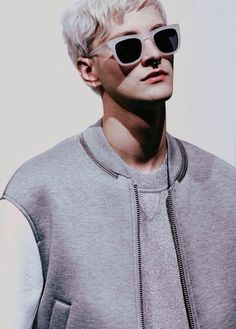 Benjamin Jarvis by Harry Carr - Backstage at Neil Barrett SS15