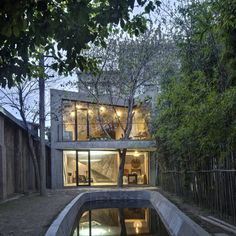 Tea House and Library in Shanghai