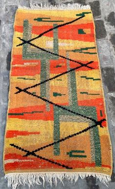Handmade Rugs, Wool Rug, Floral Rug, Turkish Kilim Rugs, Small Rugs, Hand Knotted Rugs, Bohemian Rug, Pillow Covers, Vintage