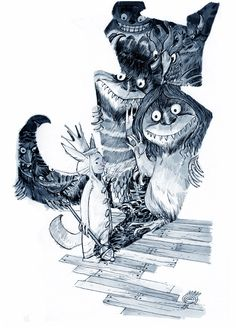 WHERE THE WILD THINGS ARE by EricCanete on DeviantArt