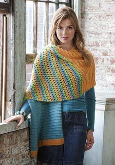 Free Pattern: Honeycomb Wrap