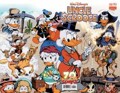 Ah, the Life and Times of Scrooge McDuck cover for Uncle Scrooge #400 by Don Rosa.