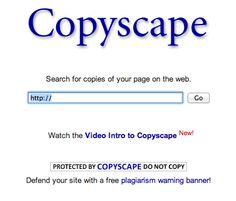 copyscape helps you search for copies of your article/blog post across the web.