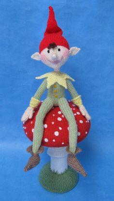 "Alan Dart's Piskie - more traditional ""elf"" look for elf on the shelf."
