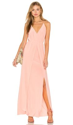 Double slit maxi dress on prime