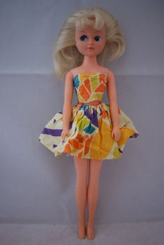 Otto Simon FLEUR blonde doll in #1009 SPECIAL OFFER outfit Dutch Sindy 80's | eBay