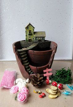 Hey, I found this really awesome Etsy listing at https://www.etsy.com/uk/listing/512945456/fairy-garden-plant-pot-fairy-garden