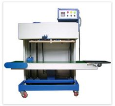 Vertical Pouch Sealing Machine or Vertical Band Sealer is the automatic vertical pouch sealing machine which is also known by the name of vertical band sealer.   http://www.elegantpackagingmachines.com/pouch-sealing-machine.html
