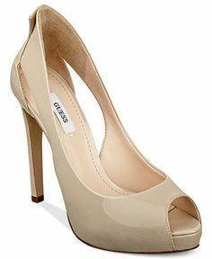 GUESS Harrah Platform Pumps - All Women's Shoes - Shoes - Macy's