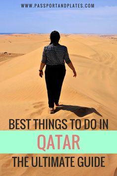 The most comprehensive guide to EVERYTHING to do in Qatar including top things to do, what to bring and wear, and everything to know before you go! Click to read!    #doha #qatar #middleeast #travel #middleeasttravel #thingstodo #travelguide #travelitinerary #itinerary #qatartravel #dohatravel