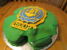 Nypd Detective Shield Cake