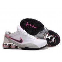 Nike Womens Shox R4 2 Plating white pink