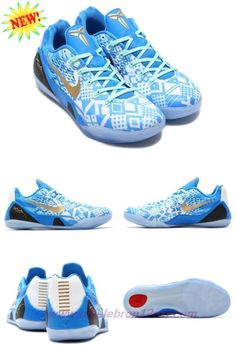 new arrival 7680c 26327 best cheap basketball shoes · Where Can I Buy Cheap Mens Nike Kobe IX 9 EM  XDR Blue   White 646701
