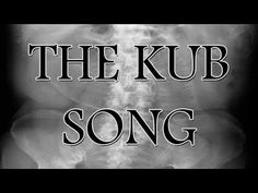 Got a good laugh out of this! Enjoy my xray friends! The Rad Tech Student KUB X-ray Song - YouTube