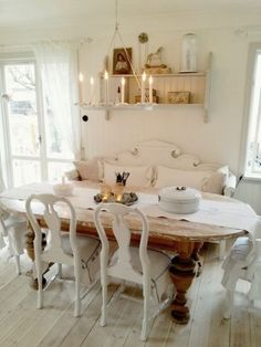 20 mejores imágenes de comedor shabby chic | Recycled furniture ...