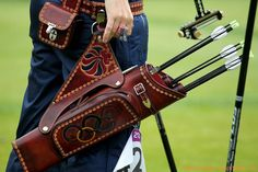Naomi Folkard's quiver from the 2012 Summer Olympics