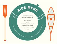 Menu No. 9 - Phoenicia Diner, Kids menu, Diner in Phoenicia, NY