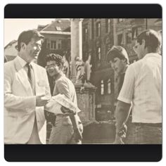 Brother Gerritt Losch in Austria in the 1970's doing street witnessing. @jw.org