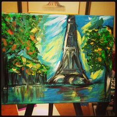 Painting- like me on FB Scrap'n Always