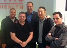 The DIGITAS NY IT Department with Brian Cooley from CNET!