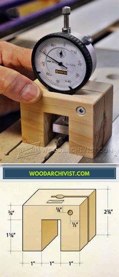 DIY Height Gauge - Marking Tips, Jigs and Techniques | WoodArchivist.com