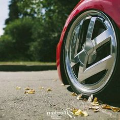 VW wheels: it's too much for me, love that someone did it though!