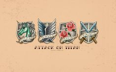 Attack on Titan: Scouting Legion Wallpaper by Imxset21 on deviantART