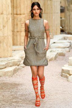 Vestidos elegantes estilo chanel
