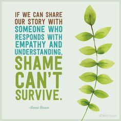 Shame can't win