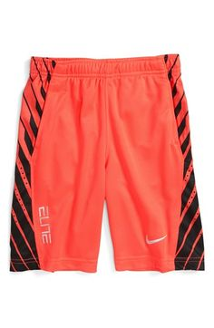 Nike 'Elite Powerup' Dri-FIT Shorts (Little Boys)