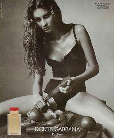 Dolce&Gabbana Femme, 1999 Model: Gisele Bündchen Photographer: Steven Meisel