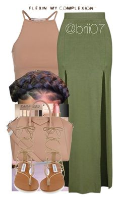 """Karma's such a thing of beauty"" by brii07 ❤ liked on Polyvore featuring NLY Trend, Topshop, Givenchy and Steve Madden"