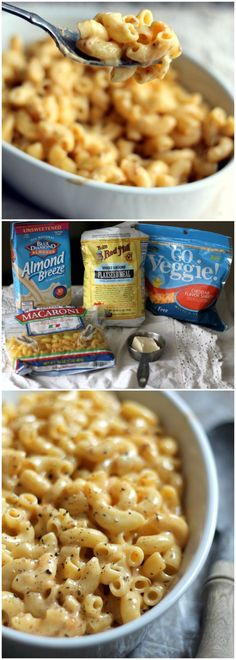The easiest vegan mac and cheese ever made on the stove top and ready in 15 minutes!